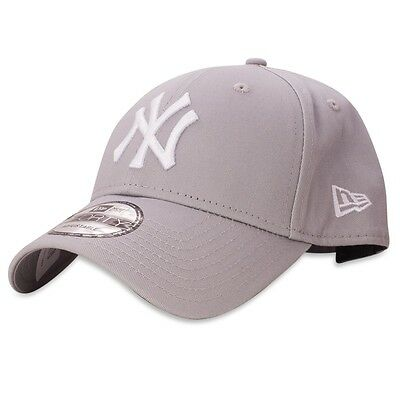 New Era Mens 9Forty Baseball Cap.genuine New York Yankees Grey Adjustable Hat 40