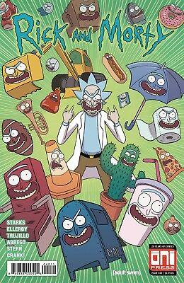 RICK AND MORTY (2015) #40 - Cover A - New Bagged