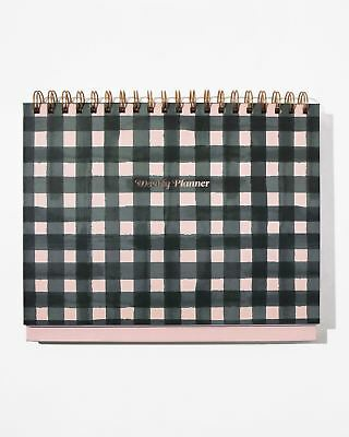 Sonix Stationery Weekly Desk Planner - Gingham