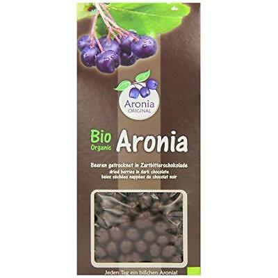 Aronia Original Organic Aronia Dried Berries Covered with Dark Chocolate 200 g