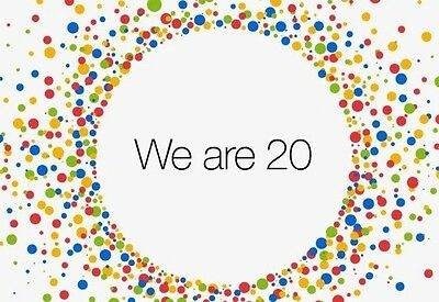 Ebay 20th Anniversary We Are 20 Collectible MensTshirt Size Large Ebayana