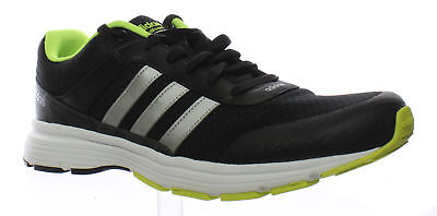 best loved ff3cf 9a780 Adidas Mens Cloudfoam Vs City Black MetallicSilver Yellow Running Shoes Size