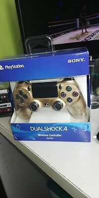 Sony Dualshock 4 Controller for PS4 - Gold BRAND NEW IN BOW NIB