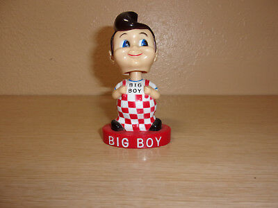 Elias Brother Big Boy Bobble Head Figure Red Base Dated 2004