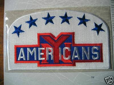 Willabee Ward NHL 1938 New York Americans Patch