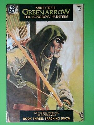 GREEN ARROW - The Long Bow Hunters #3 VF