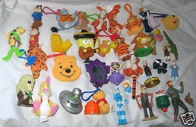 Lot 37 Fast Food Toys Burger King Mcdonalds Ect See Pictures