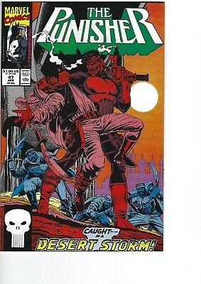The Punisher  # 47 NM  9.4  (1987)
