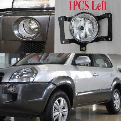 New 1PCS Left Side Front Fog Light Lamp with Bulbs For 2005-09 Tucson