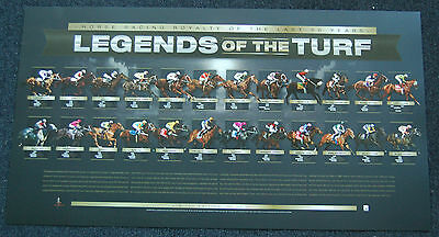 Legends Of The Turf Horse Racing Royalty 50 Years Official Limited Edition Print