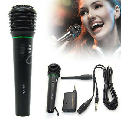 Professional Handheld Wireless/Wired Microphone Mic System For Church Karaoke