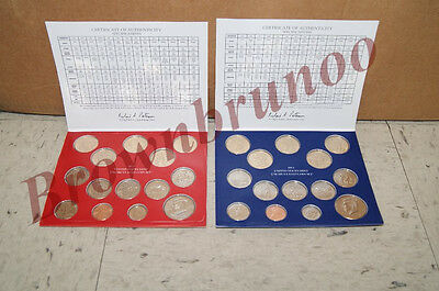 2014 + 2013 P&D United States Mint Uncirculated Coin Set 56 Coins