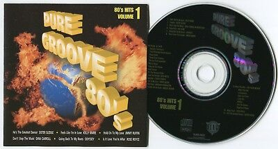[BEE GEES COVER] VARIOUS ARTISTS ~ PURE GROOVE 80's VOL.1 ~ UK 15-TRACK CD ALBUM