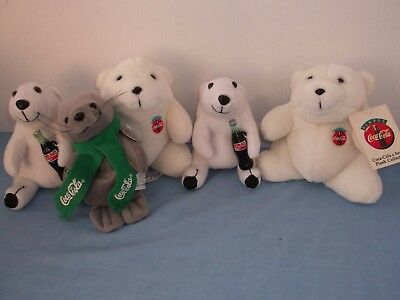 Coca cola Bears and Seal