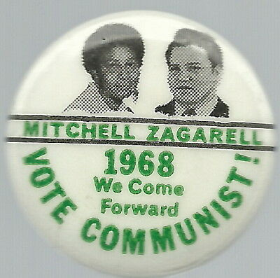 Communist 1968 Mitchell, Zagarell Jugate Pin