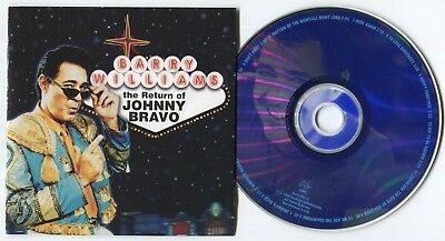 [Bee Gees Cover] Barry Williams~The Return Of Johnny Bravo~1999 Us 12-Track Cd