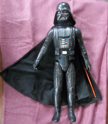 "Vintage STAR WARS DARTH VADER 12"" Action Figure AF KENNER General Mills 1978"