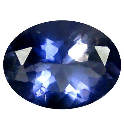 0.53 Ct AAA Superbes Forme Ovale (6 X 5 mm) Iolite Naturel Libre Pierre