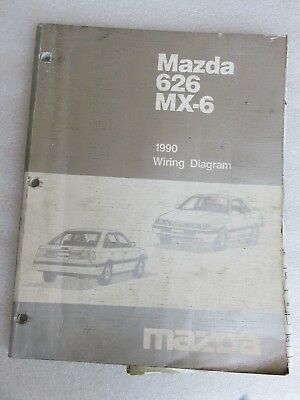 1995 Mazda 626 Mx 6 Electrical Wiring Diagrams Service Manual Oem Factory Shop 9 69 Picclick