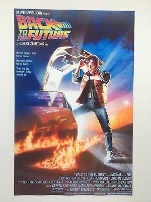 Back to the Future Theatrical Release 11x17 Movie Poster (1985)