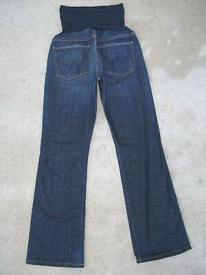 Citizens of Humanity Pea in Pod Maternity Bootcut Jeans Sz 30 Dark Wash Stretch