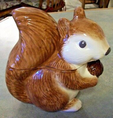 Charmant Better Homes Heritage Collection Squirrel Cookie Jar