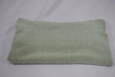4a63673825a Colorado Comforts HTF Clothing Baby Blanket Lovey Security Plush Green Knit
