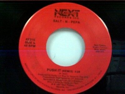 "Salt N Pepa ""push It / Same"" 45 Mint"