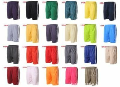 joblot boys sports shorts 3 stripe new 25 pairs age 10/15 football baggy fit