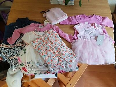 Wholesale Job Lot BABY Clothing mix newborn and 0-3 months 7 Pieces