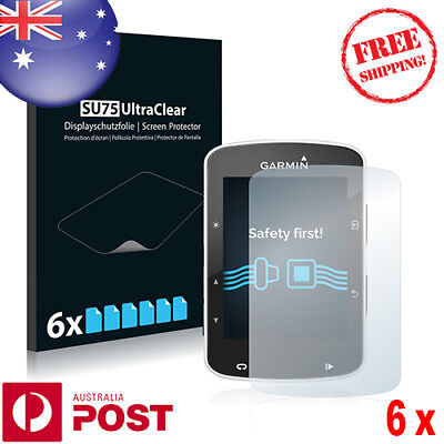 6x HD Screen Protector for Garmin Edge 520 Screen Protector - P073BF
