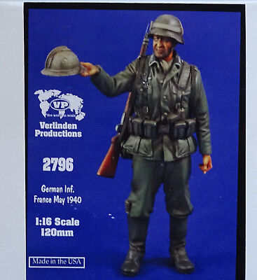 VERLINDEN PRODUCTIONS #2796 German Infantryman France May 1940 in 1:16