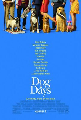 Dog Days - original DS movie poster - 27x40 D/S 2018