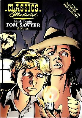 Classics Illustrated (1997) - Mark Twain: Tom Sawyer - Acclaim Books, with Notes