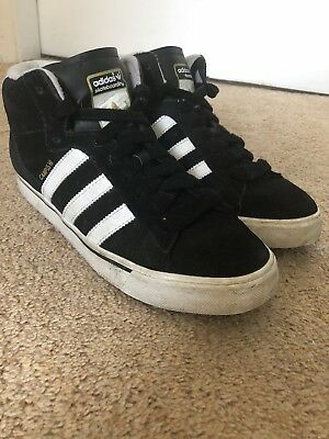 ADIDAS SKATEBOARDING CAMPUS Hi trainers Retro Vintage 00 s Size 7 ... ff517aa5a9cd