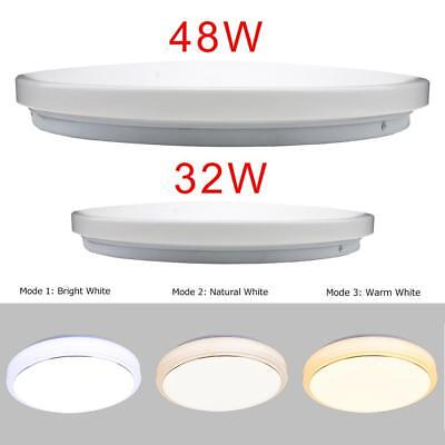 32W 48W Round LED Ceiling Panel Down Lights Bulb Slim Lamp Fixture Home Light GA