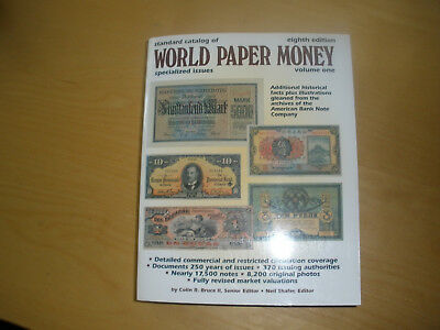 World Paper Money Volume 1 - specialized Issues -  8th Edition