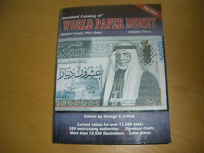 World Paper Money Volume 3 - modern issues 1961-  10th Edition