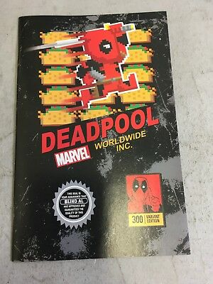 DEADPOOL #300 Super Mario Bros Video Game Variant Limited 3000 Marvel Comics