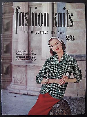 FASHION KNITS Fifth Edition by P&B (early 1960s)