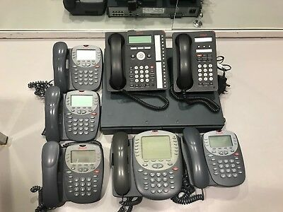 Avaya Office Phone System Ip500 Complete Telephone System With 7 Handsets