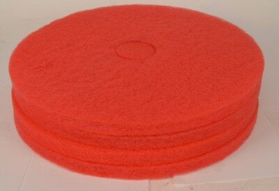 Lot of 4 NEW Pro Link Red 20 Buffer Cleaner Pads