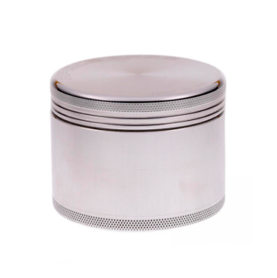 """The Real Original Authentic Space Case Grinder Silver Small 2""""   50mm"""