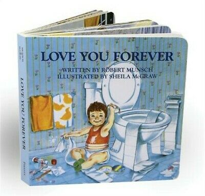 Love You Forever (Board Book)