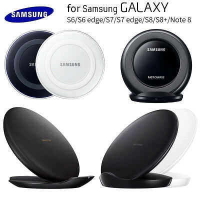 OEM Qi Fast Wireless Charger Pad Stand Dock For Samsung Galaxy S7 S8 S9 Note8/9