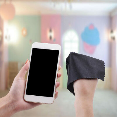 10Pack Premium Microfiber Cleaning Cloths for Lens Glasses Phone Camera Screen