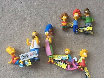 The Simpsons Limited Edition Figurine Set Series 1. Loose Figures New 2005