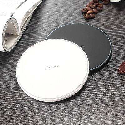 Wireless Fast Charger Charging Stand Ergonomic design Dock Phone Plate Pad