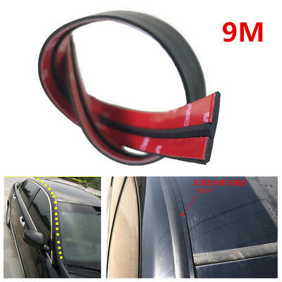 DIY 9M Car Windshield Sunroof Edge Rubber Seal Strip Soundproof Trim All Weather
