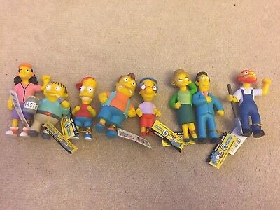 The Simpsons Limited Edition Figurine Set Series3 Springfield Elementary New
